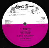 Emeterians ft. Saritah - Respect / Kevin David - One In A Zillion / Feedback Dub (River Bank) 10""